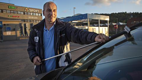 PASSER D�RLIG: Erling Jensen Hammerstad er ikke forn�yd. Foto: Lars Eivind Bones / Dagbladet