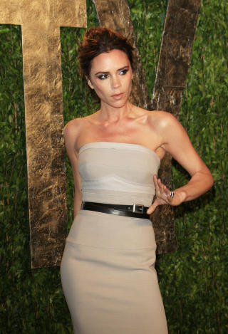 FOTBALLFRUE: Victoria Beckham var en av Englands frste WAGs. Foto: Stella pictures