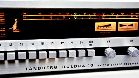 TIDL�ST: Tandberg-produktenes rene, enkle designspr�k ser like bra ut i dag. Foto: Jacques Hvistendahl