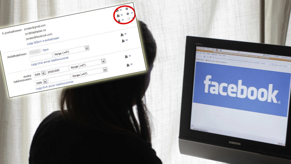 EPOST-KAPRING: Facebook prver  f deg til  bruke @facebook.com-adressen din. Foto: AP Photo/Paul Sakuma/Scanpix