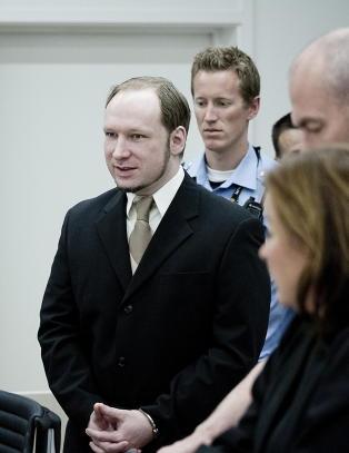 Retten setter av tre dager til � behandle Breiviks s�ksm�l mot staten