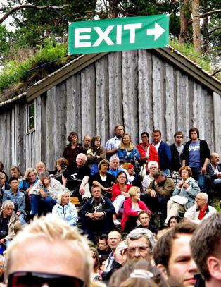 Kultur-Norge vil ikke ha d�rlige nyheter