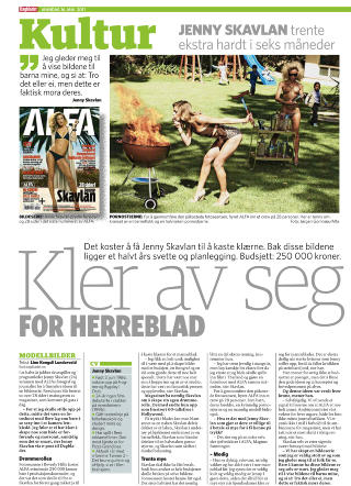 DAGBLADET: 16. mai 2011.