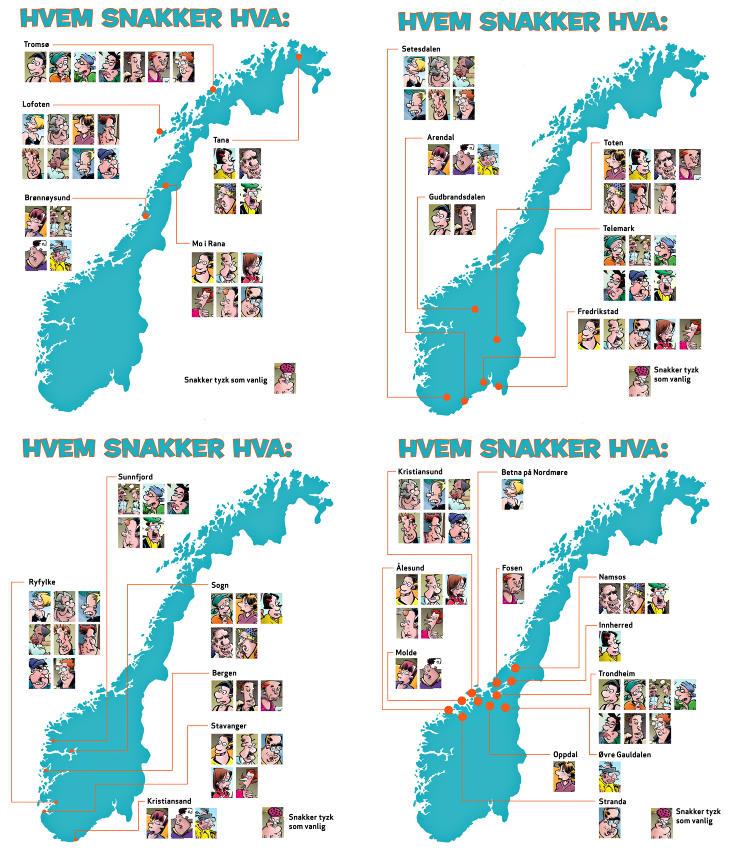 dialekter i norge Lillesand