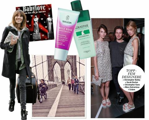 FAVORITTER: Williamsburg, The Supremes og Christopher Kane er blant de store favorittene til britiske Chung.