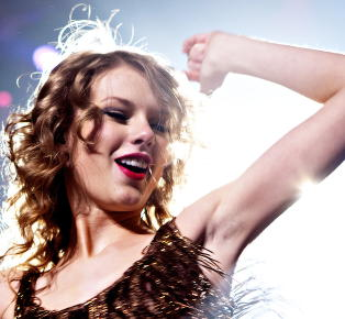 Taylor Swift til topps p� hitliste, men l�ta er helt tom