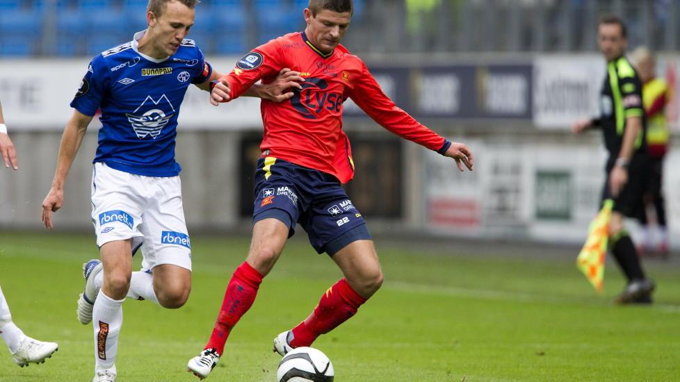 SOLGT: Valon Berisha er solgt til Salzburg. Foto: Svein Ove Ekornesv�g / NTB scanpix
