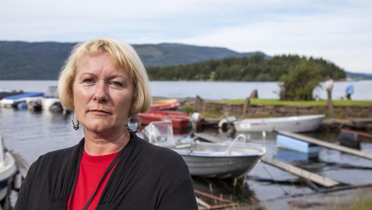 TRAVEL DAG: Christin Bjelland, Nestleder i Støttegruppen for 22.juli har en travel dag. Foto: Per Flåthe/Dagbladet