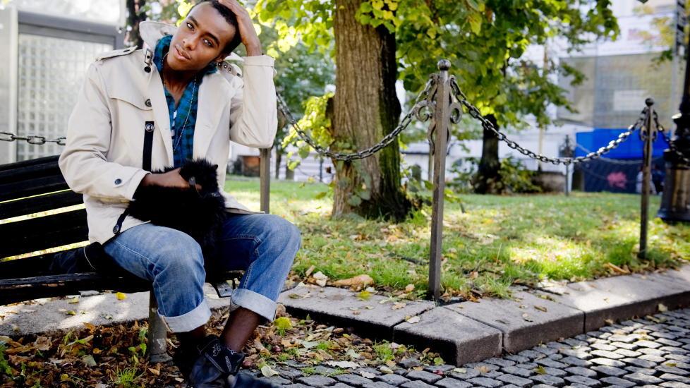 SAVNER VENNEN:   Mohamed «Mo» Abdi Farah mistet bestekompisen Ismail Haji Ahmed 22. juli i fjor. Foto: Øistein Norum Monsen/DAGBLADET.