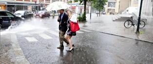 Regnv�r har gitt rekordlav str�mpris