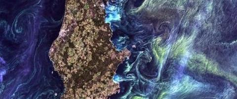 �Jorda som kunst�: Her er Nasas beste bilder av kloden v�r