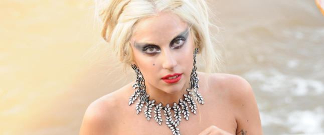 Lady Gaga debuterer som skuespiller
