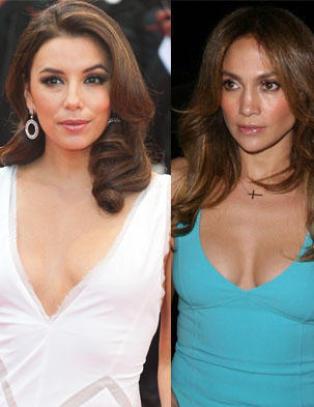 Jennifer Lopez og Eva Longoria s�rger over d�d skuespillerkollega