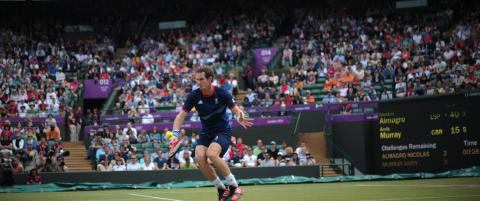 Murray cruiset til OL-semifinale
