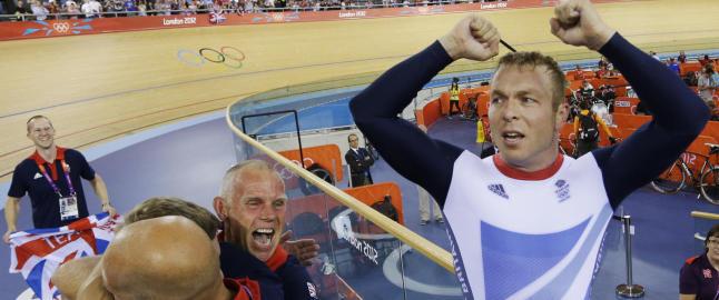 Sir Chris vartet opp med gull og verdensrekord