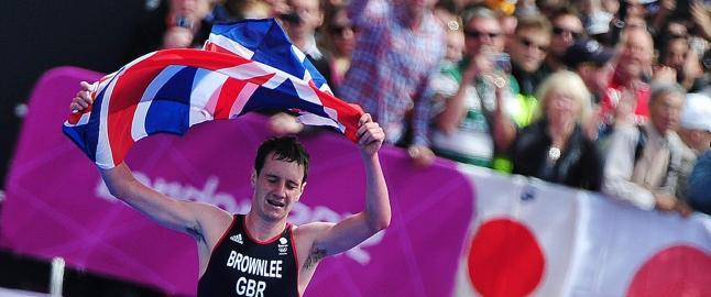 Britisk br�dredominans i triathlon