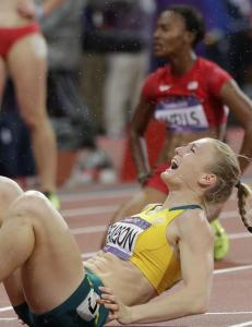 Pearson brast i gr�t  etter OL-gull