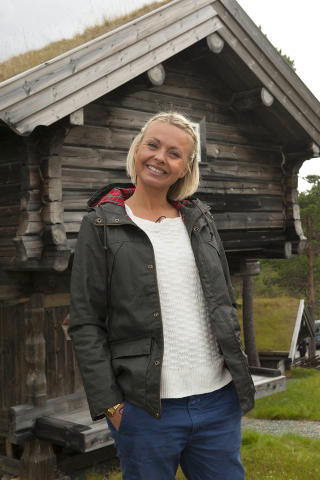 STORFORNYD: Programleder Marthe Sveberg er fornyd bde med rets bnder og friere, og krysser fingrene for at de finner kjrligheten. Foto: Nils J. Maudal / Dagbladet