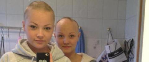 Linda (19) barberte hodet for bestevenninna
