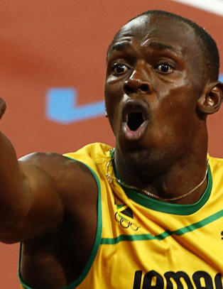 Bolt fyrte ls mot Carl Lewis