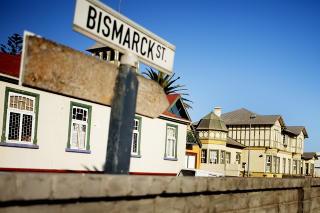 Jugendstil: I havnebyen Swakopmund finnes fortsatt gater oppkalt etter Bismarck og Goethe.