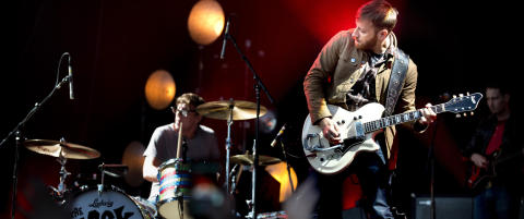 Kjellerbandet Black Keys er blitt stadionband