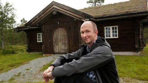70 PROSENT SIKKER: Bonden Tor Magne Egge. Foto: Nils J. Maudal / Dagbladet