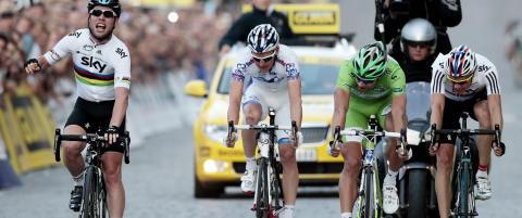 Cavendish spurtslo Sagan i Oslo Grand Prix