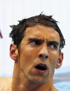 - Med Phelps tenker du deg godt om f�r du gj�r noe negativt