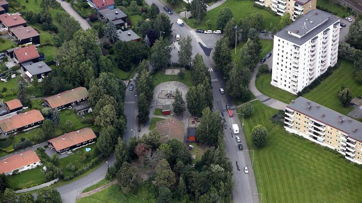BARNEHAGEN: Ved Østensjø-Kanvas barnehage ble skoene, mobiltelefonen og en av Sigrids sokker funnet kort tid etter hun forsvant. Foto: Christian Roth Christensen / Dagbladet