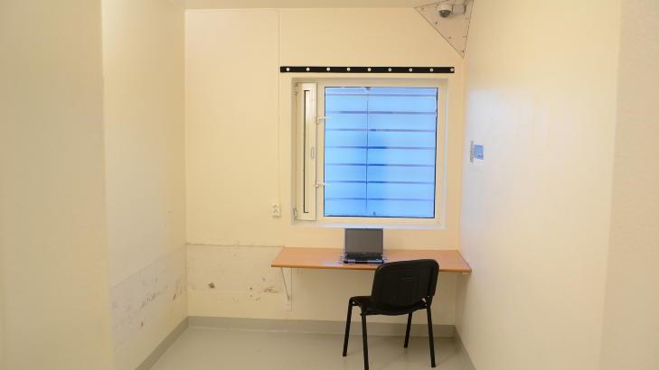 PC: Breivik vil muligens f� mulighet til � bruke PC i fengselet, slik han ogs� har i dag. Breivik fikk PC--tilgang i fengselet etter forhandlinger med politiet. Etter at dommen er falt, er det  imidlertid kriminalomsorgen eller helsevesenet som bestemmer om han fremdeles skal ha tilgang p� den. Foto: Ila fengsel og forvaringsanstalt/Glefs AS