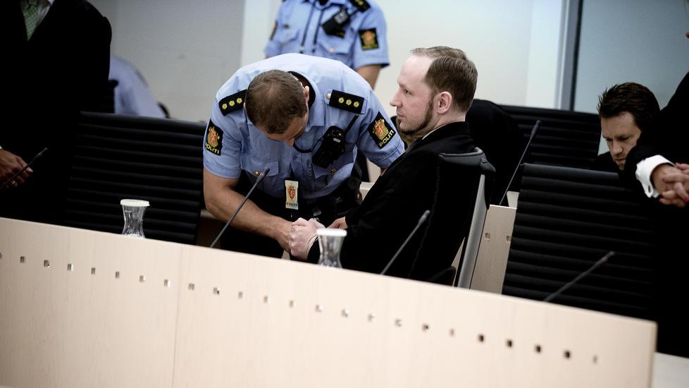 TILREGNELIG TERRORIST: Anders Behring Breivik er if�lge retten tilregnelig, han visste alts� hva han gjorde 22. juli i fjor. Foto: BJ�RN LANGSEM