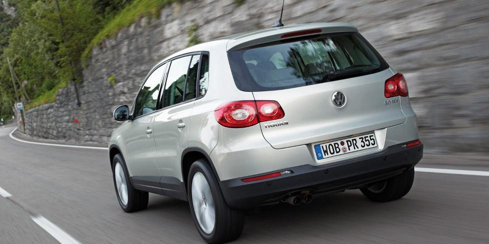 KVALITET: VW Tiguan kommer sv�rt godt ut i Dekras siste kvalitetsrapport. Foto: HM Foto