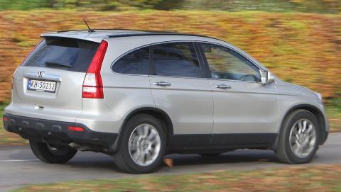 BRA BRUKT: Honda CR-V fra 2007 regnes som et trygt kj�p. Foto: Egil Nordlien, HM Foto