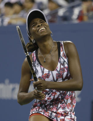 Tidlig US Open-exit for Venus Williams