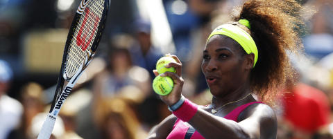 Serena Williams tangerte stores�ster