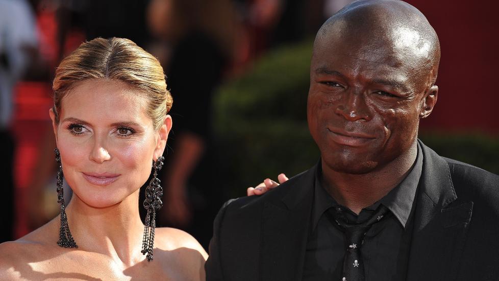 FORTSATT GIFT: Heidi Klum og Seal gikk fra hverandre i januar, juridisk sett er de fortsatt er gift. Foto: Robyn Beck / AFP Photo / NTB Scanpix