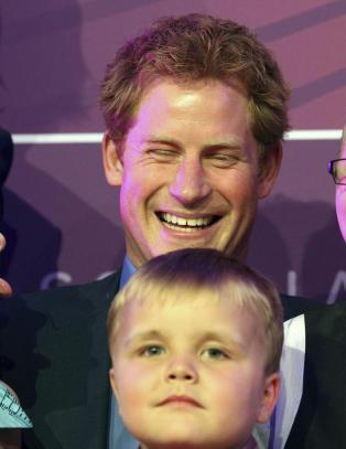 6 år gamle Alex Logan satte prins Harry på plass