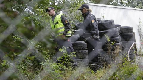AVSPERRET OMR�DE:  Foto: �istein Norum Monsen / Dagbladet