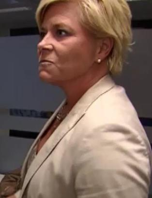 Siv Jensen trodde hun skulle p et vanlig skolebesk...