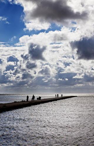 PLASS NOK: Stranda er ti mil lang. Halvparten tilh�rer Litauen, halvparten Russland. Norge ligger halvannen times flytur unna. Flytbilletten til Palanga koster ofte bare noen hundrelapper. Foto: Nina Hansen / Dagbladet