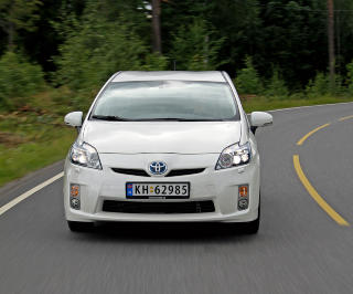 STARTER DET HELE: Toyota Prius. Foto: HM Foto