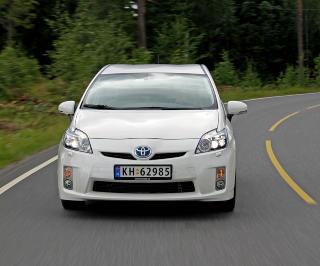 STARTER DET HELE: Toyota Prius. Foto: HM Foto