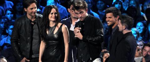 �Twilight�-gjengen samlet p� MTV-Awards