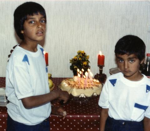 Lillebror: Vi er veldig forskjellige, sier Ali om lillebroren Wassim.