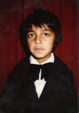 Alvor: Zahid Ali var sjenert, sv�rt lite interessert i skolearbeid, og ville bare sitte inne og tegne.
