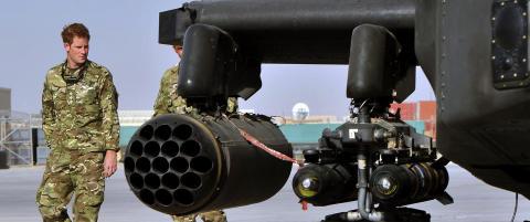 Prins Harry skal drepe Taliban-krigere