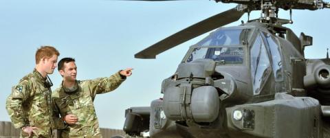 - Prins Harry ble sendt til Afghanistan som straff etter nakenbildene