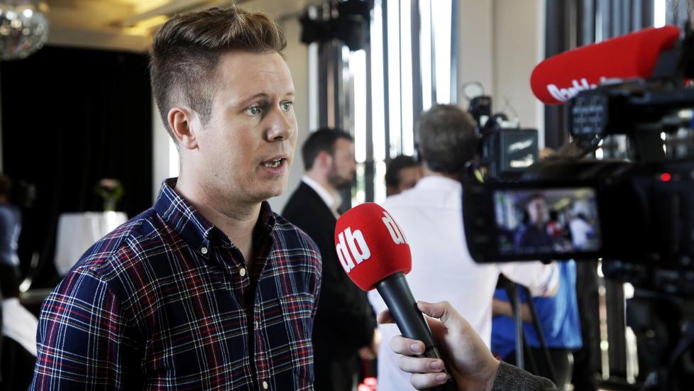 B�R DISKUTERE PEDERSENS ROLLE: AUF-leder Eskil Pedersen. Foto: Steinar Buholm / Dagbladet.