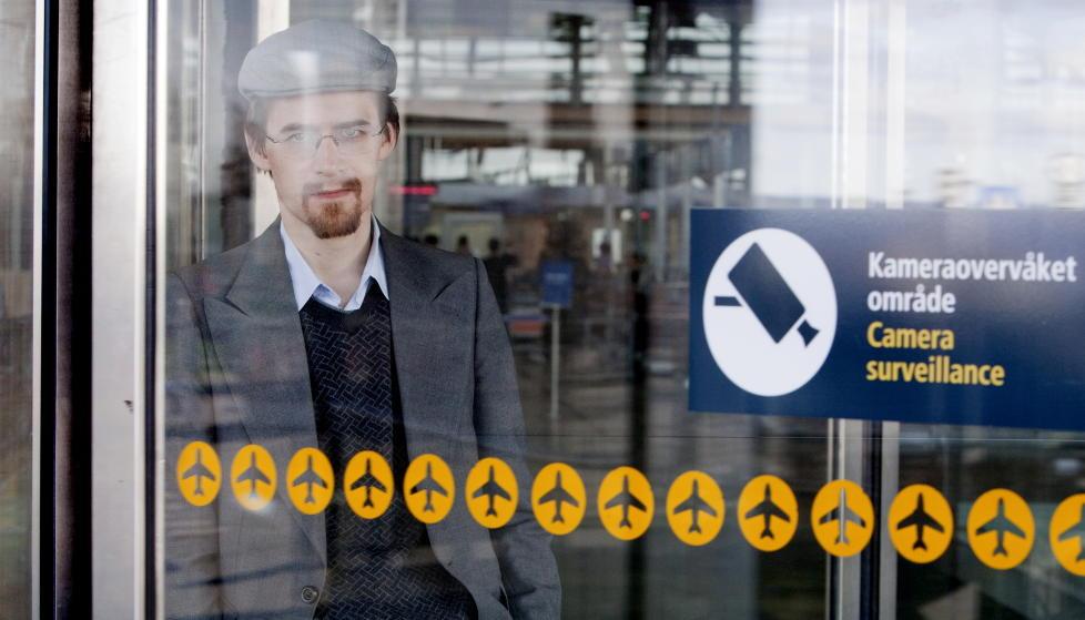 OVERV�KING: Joakim Hammerlin har skrevet bok om terrorhysteriet som har �rammet� verden etter 11. September.  Foto: Espen R�st / Dagbladet